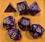 Phandelver game dice