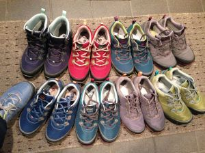 Ahnu shoes sneakers