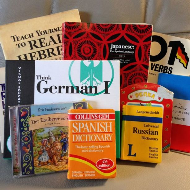 Books foreign language learning