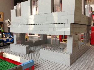 Family Lego city display MOC in progress