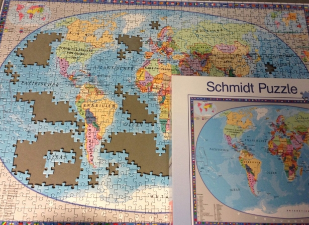 German world puzzle deutsch