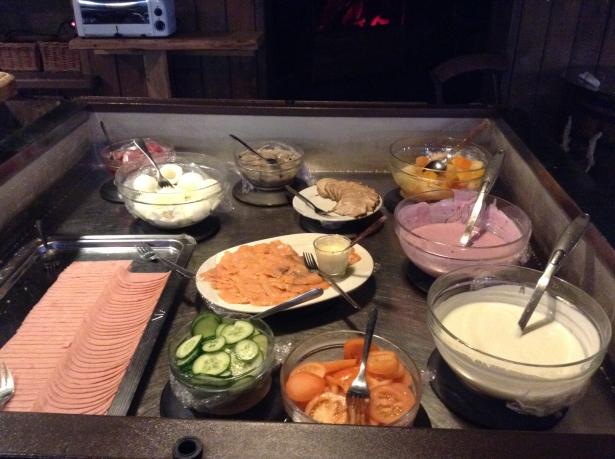 Iceland hotel breakfast buffet