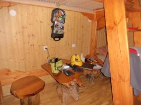 below one bunk
