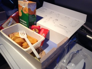 Icelandair kid meal