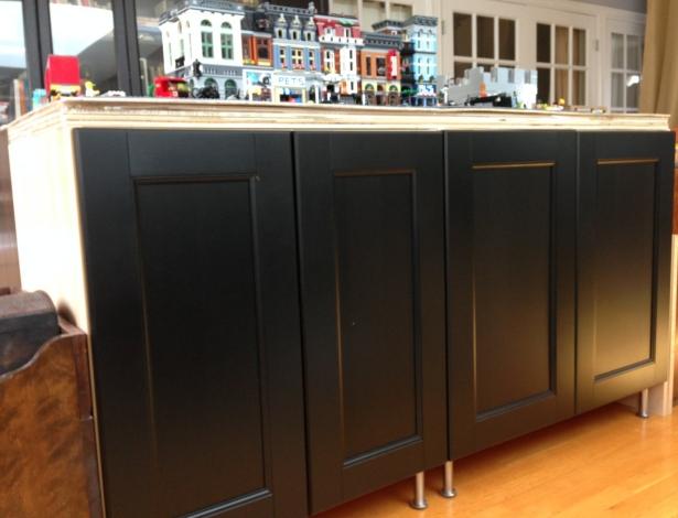 IKEA Lego display platform cabinets