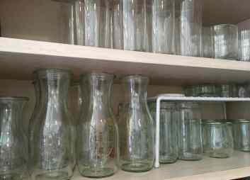 Glassware in plain sight