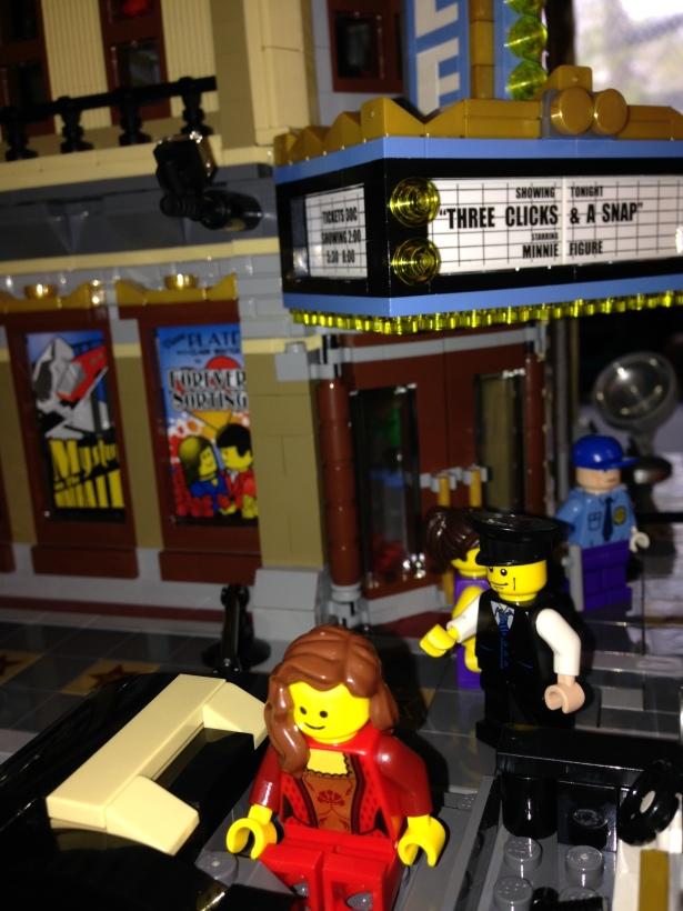 Lego Cinema street scene - 1