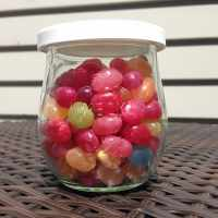 Weck jelly beans