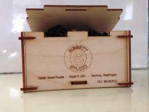 wooden jigsaw puzzle Sibbett Studio box front
