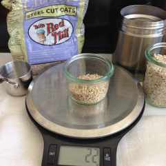 Just steel cut oats