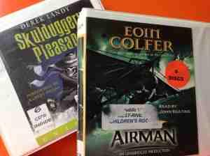 audiobooks Skullduggery Airman - 1