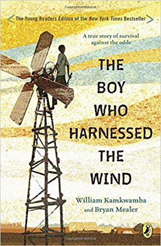 Boy Harnessed the Wind book cover photo