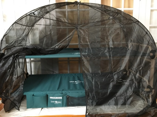 Cam-O-Bunk accessory Mosquito Net open - 1