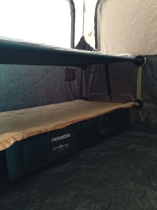 Camp Disc-O-Bed Cam-O-Bunk XL stacked - 1