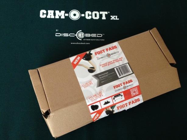 Disc-O-Bed Cam-O-Bunk foot pads - 1