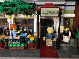 Lego Parisian Restaurant - 1