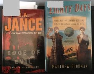 books Jance 80 Days Bly - 1