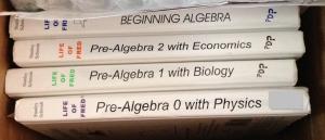 Books Math Life of Fred Prealgebra
