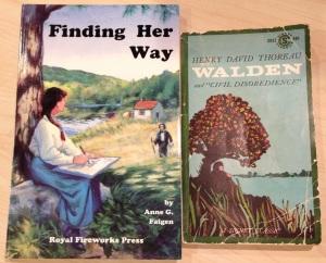 books Walden Thoreau YA related story - 1