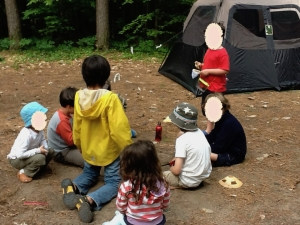 Camping friends - 1