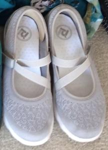 Grey propet shoes