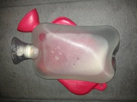rubber hot water bottle - 1