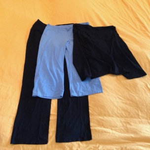 Wardrobe quick August escape - bottoms