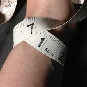 Measuring your own wrist is tricky