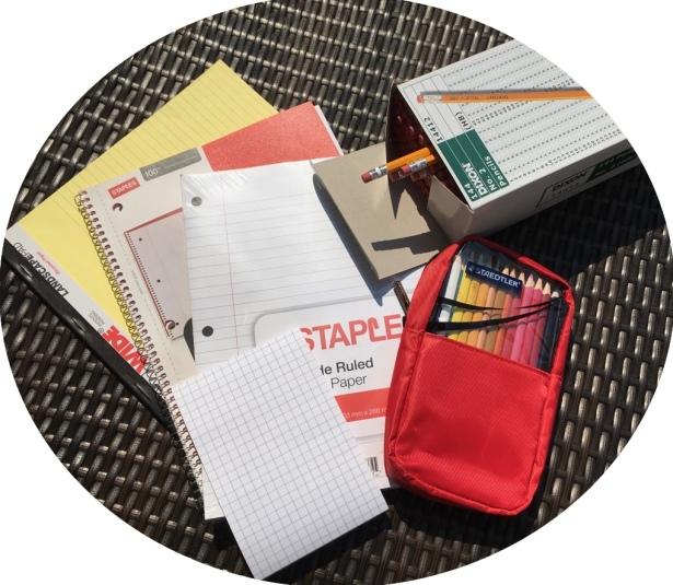 school supplies - 1