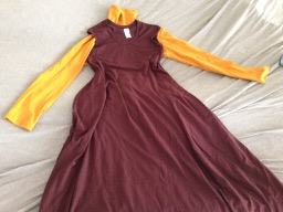 capsule wardrobe CA SF autumn - gold under mahogany