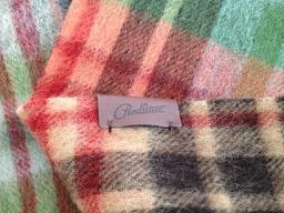 Soft wool poncho by Pendleton