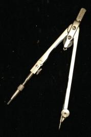 pair of compasses steel - 1
