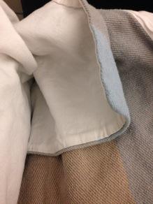SWISS Business Class blanket