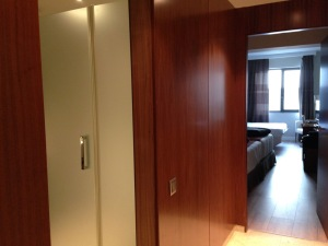Barcelona hotel entrance corridor - 1
