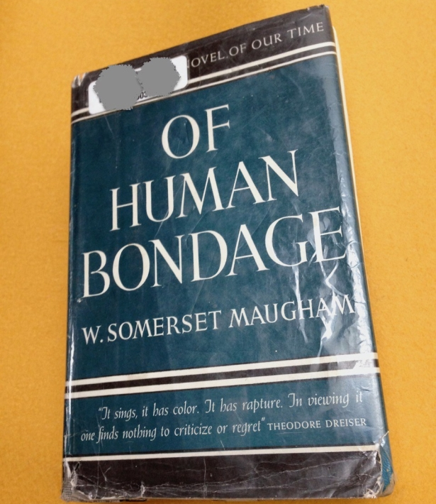 book novel Of Human Bondage cover