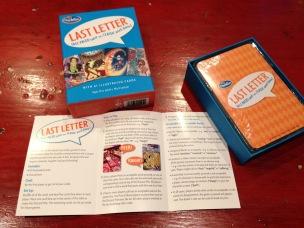 Hanukkah 5 gift game Last Letter - 1