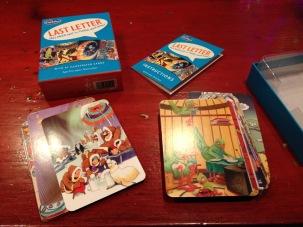 Hanukkah 5 gift game Last Letter cards - 1