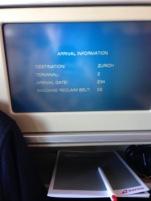 SWISS IFE flight - 1