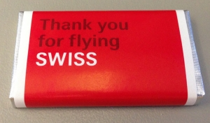 SWISS Thank you chocolate - 1