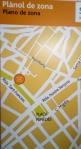 Vilafranca Placa Penedes map - 1