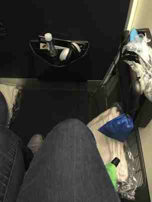 Air NZ Premium Economy bulkhead seat