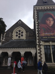 NZ Canterbury Museum entrance - 1