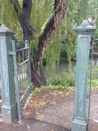 NZ Hagley Park gate