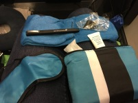 NZ Premium Economy amenity kit