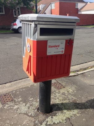 NZ services post box mailbox