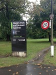 NZ trip Hagley Park sign - 1