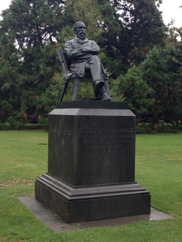 NZ trip statue man - 1