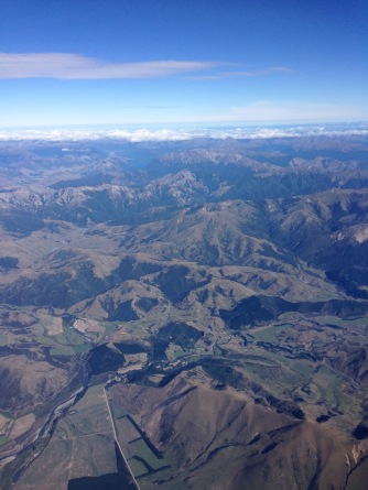 View across New Zealand to Tasman Sea