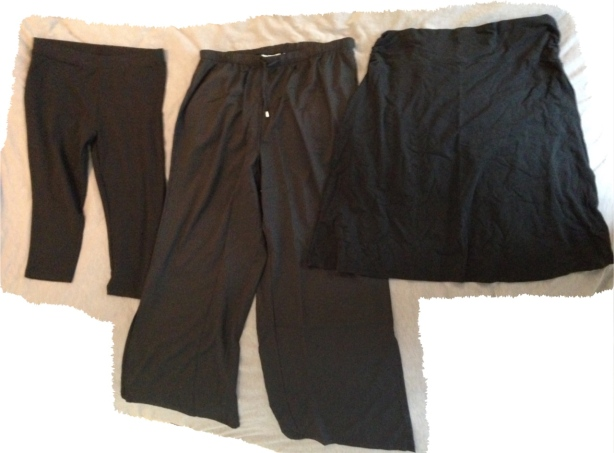 NZ capsule wardrobe bottoms