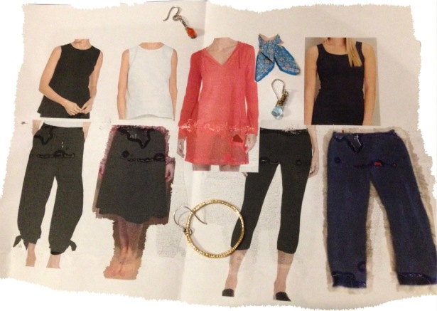 NZ capsule wardrobe pictorial accessories - 1